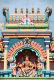 Estatua hindú de la diosa Fotografía de archivo