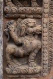 Estatua hindú de la diosa Fotos de archivo libres de regalías