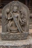 Estatua hindú de la diosa Imagenes de archivo