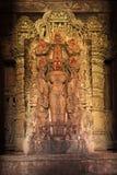 Estatua hindú de la imagen de la diosa de Lakshmi Fotografía de archivo libre de regalías