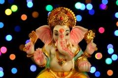 Estatua hindú del ganesha de dios Imagen de archivo libre de regalías