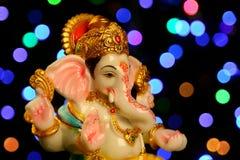 Estatua hindú del ganesha de dios Fotos de archivo libres de regalías