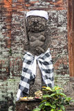 Estatua hindú del guarda, Denpasar, Bali foto de archivo libre de regalías