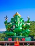 Estatua hindú grande de dios de Ganesha Fotos de archivo