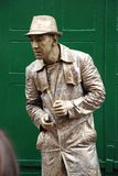 Estatua humana, Hastings Imagenes de archivo