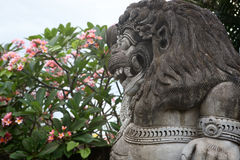 Estatua II del Balinese Fotografía de archivo libre de regalías