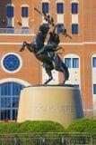 Estatua INCONQUISTADA de FSU Imagen de archivo libre de regalías