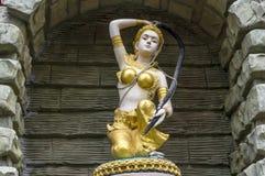 Estatua india del ángel Fotos de archivo libres de regalías