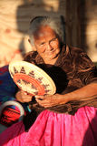 Estatua india Santa Fe New Mexico Imagen de archivo libre de regalías