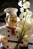 Estatua italiana del cocinero Fotografía de archivo libre de regalías