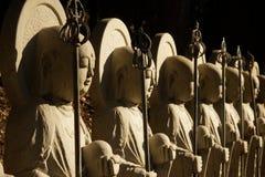 Estatua japonesa del monje Foto de archivo