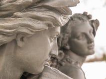 Estatua joven de los amantes Imagen de archivo libre de regalías