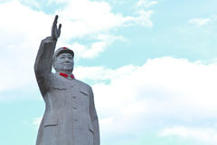 Estatua de Mao Zedong Fotos de archivo