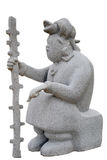 Estatua maya imagen de archivo