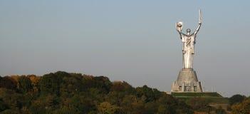 Estatua monumental del   imagen de archivo