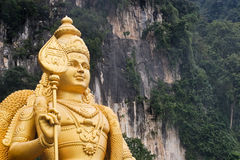 Estatua murugan del señor Fotos de archivo