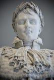 Estatua Napoleon Bonaparte Louvre Paris, Francia Imagen de archivo libre de regalías