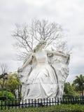 Estatua no identificada de las mujeres Fotos de archivo