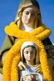 Estatua o escultura de Santa Ana Fotos de archivo libres de regalías