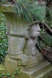Estatua ocultada Fotos de archivo libres de regalías