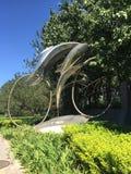 Estatua olímpica del velódromo de Pekín Imagen de archivo libre de regalías