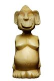 Estatua pagana de Siberia Foto de archivo