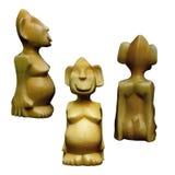 Estatua pagana de Siberia Foto de archivo libre de regalías