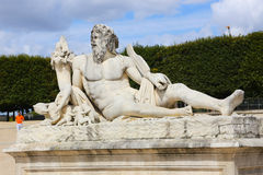 Estatua - París Fotografía de archivo libre de regalías