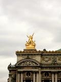Estatua París de la ópera Fotografía de archivo libre de regalías