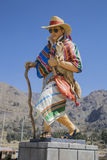 Estatua peruana Imagen de archivo