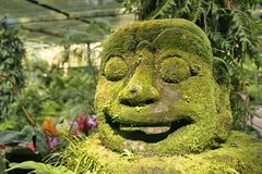 Estatua principal de la selva Imagen de archivo libre de regalías