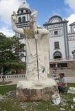 Estatua que esculpe en Tegucigalpa, Honduras Imagenes de archivo
