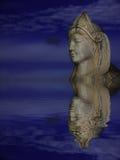 Estatua refleja de la señora Imagenes de archivo