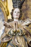 Estatua religiosa Foto de archivo libre de regalías
