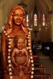 Estatua religiosa foto de archivo