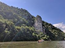 Estatua Rumania decebal 2018 fotos de archivo