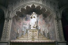 Estatua San Juan Evangelista Foto de archivo