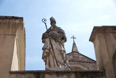 Estatua, San Zeno en oratorio imagenes de archivo