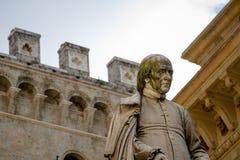 Estatua, Siena, Italia fotos de archivo