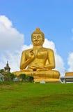 Estatua sonriente de Buda Foto de archivo libre de regalías