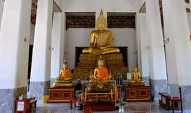 Estatua tailandesa de Bhuddha Imagen de archivo libre de regalías