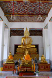 Estatua tailandesa de Bhuddha Foto de archivo