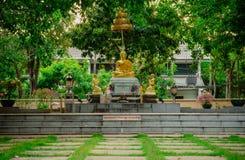 Estatua tailandesa de Buda fotografía de archivo libre de regalías