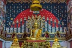 Estatua tailandesa de Buddha Foto de archivo