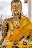 Estatua tailandesa de Buddha Imagen de archivo
