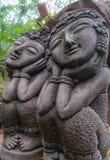 estatua tailandesa de las mujeres Imagenes de archivo