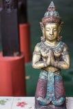 Estatua tailandesa del ángel fotografía de archivo
