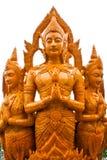 Estatua tailandesa del ángel de la cera del estilo Imagenes de archivo