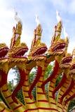 Estatua tailandesa del dragón Foto de archivo