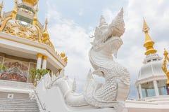 Estatua tailandesa del dragón Fotos de archivo